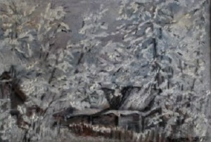 collection of winter paintings by Helen Polishuk (6)