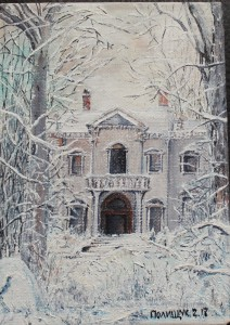 collection of winter paintings by Helen Polishuk (7)