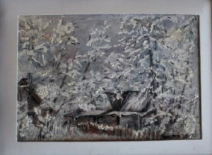 collection of winter paintings by Helen Polishuk (8)