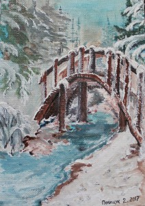 collection of winter paintings by Helen Polishuk (9)